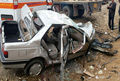 نجات جان مصدوم حادثه برخورد پژو با کامیون