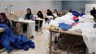 اهدا ۷۷۷ دست لباس گان به بیمارستانهای یزد