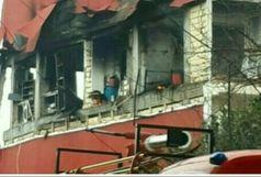 4 مصدوم براثر نشست و انفجار گاز در صومعه سرا