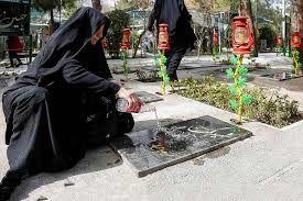 دلیل اصلی ریختن آب روی قبر چیست؟