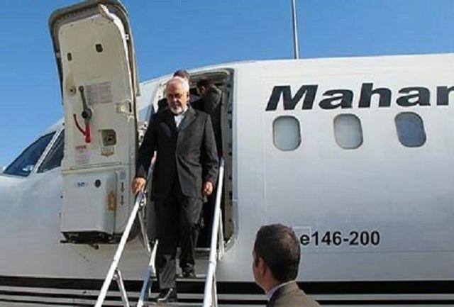 ظریف وارد بغداد شد