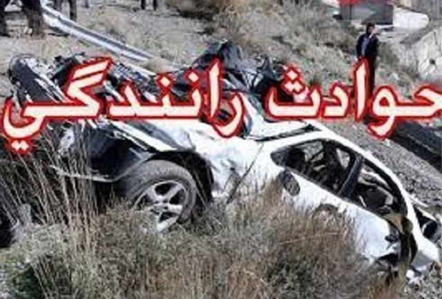 تصادف کامیون با پراید 3 کشته و 2 مجروح برجای گذاشت