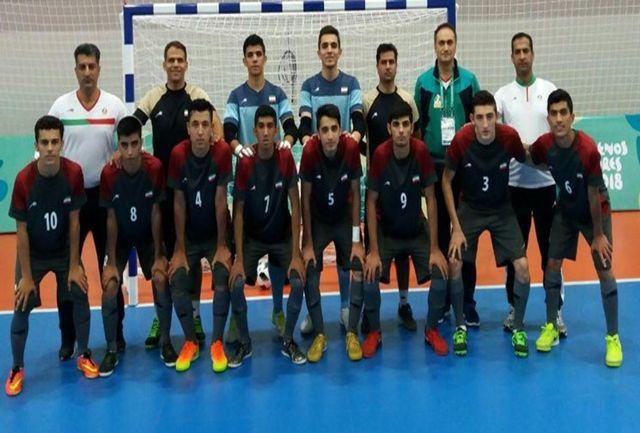 برتری تیم ملی فوتسال روسیه مقابل ایران