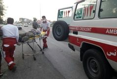 امدادرسانی به ۶ حادثه دیده طی ۴ حادثه در ۲۴ ساعت گذشته