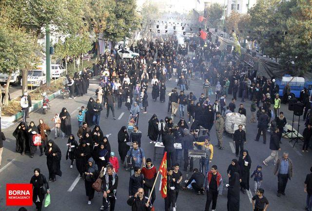 آغاز مراسم پیادهروی جاماندگان اربعین حسینی در تهران