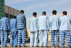 دستگیری ۷ سارق حرفهای منزل و کیف قاپ/کشف اسلحه و اموال مسروقه از متهمین