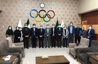 برگزاری نشست کمیسیون مدیریت و برنامه ریزی با حضور رئیس کمیته ملی المپیک