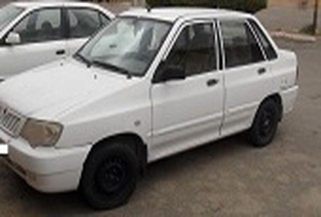 خودروی پراید با 64 میلیون ریال خلافی توقیف شد