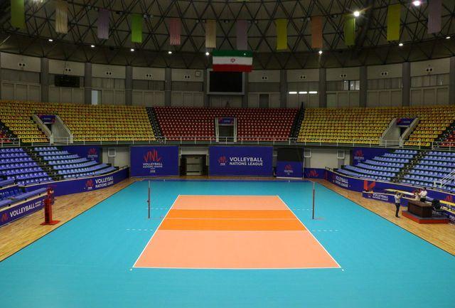 نمایش مسابقات لیگ ملتهای والیبال در سینماهای ارومیه