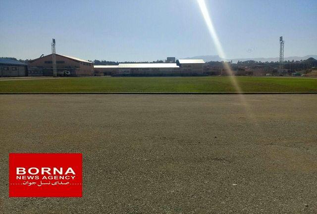 حال و روز ناخوش چمن فوتبال ورزشگاه  پلدختر