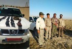 دستگیری 5شکارچی متخلف در زابل