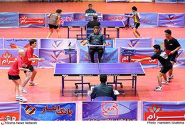 صعود پینگپنگ بازان ایران در اولین رنکینگ سال 2011