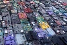 کشف میلیاردی باطری قاچاق در شیراز
