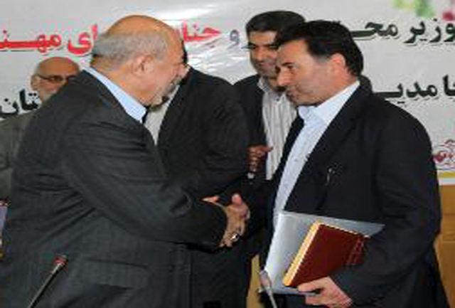 وزیر نیرو از مدیرعامل شرکت توزیع نیروی برق آذربایجان شرقی تقدیر کرد