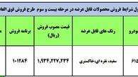 جزئیات طرح فروش فوق العاده رانا پلاس جدید ایران خودرو اعلام شد