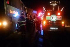 اسامی مصدومان اتوبوس تهران،شیراز  / 9نفر در دم جان باختند