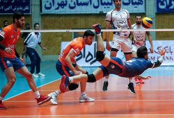 لیگ برتر والیبال،سایپا تهران - شهرداری ورامین