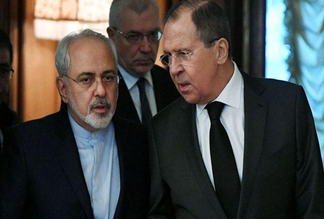 وزیر امور خارجه روسیه: پیشنهاد ظریف اولین گام خاموش کردن آتش تنشها است