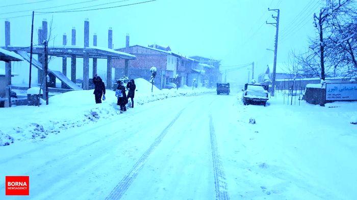 تعطیلی مدارس همدان به علت سرما