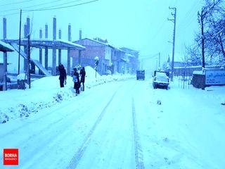 برف کلاردشت