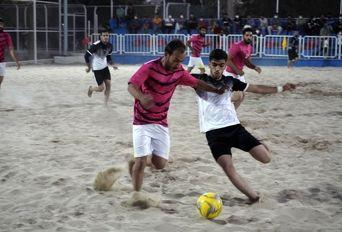 مسابقات فوتبال ساحلی استان کرمان جام شهید زنگیآبادی