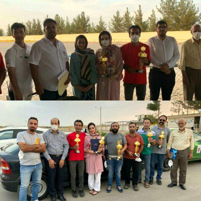 مسابقات رالی شهری چند جانبه در استان اصفهان برگزار شد
