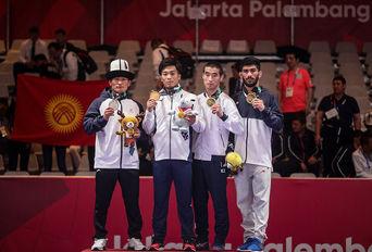 مدال برنز مهرداد مردانی / بازیهای آسیایی۲۰۱۸ جاکارتا