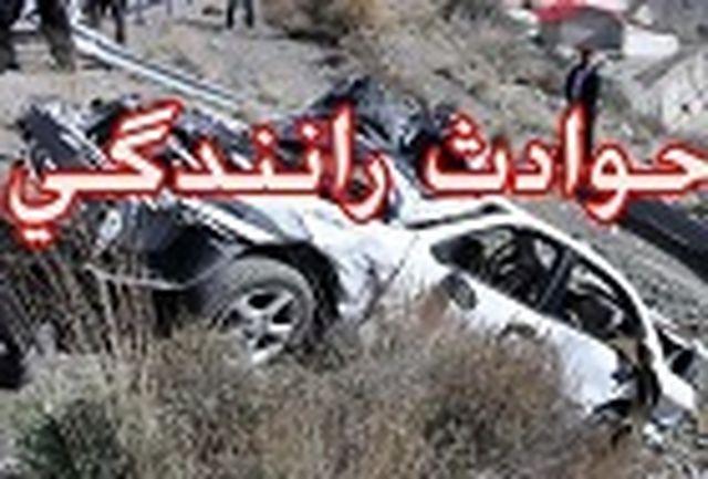 مرگ راننده زن جوان در حادثه تصادف