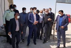 گیتهای بیماریابی در ورودی مرز مهران فعال شد