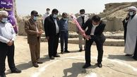 کلنگ زنی 60 واحد مسکن روستایی قشم