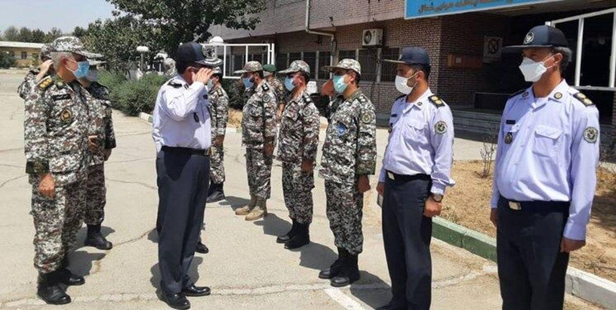 فرمانده نیروی پدافند هوایی ارتش از منطقه پدافندی تهران بازدید کرد
