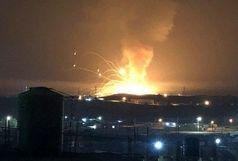 حمله توپخانه ای به لبنان
