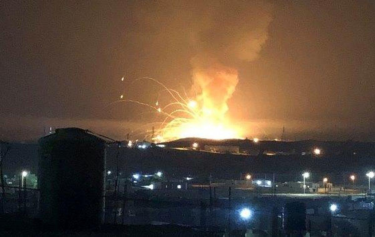 شنیده شدن صدای انفجار شدید در مرز عراق و سوریه