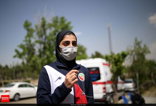 امیدوارم هرچه زودتر همه مردم ایران بتوانند واکسن را بزنند/ شانس گرفتن سهمیه المپیک را داریم