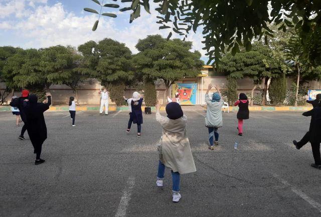 طرح آوای ورزش همسایگی در شرق تهران استارت خورد