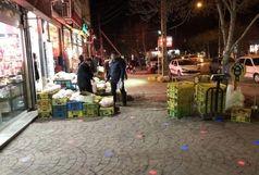 مغازهدارانی که اجناس خود را در پیادهرو میگذارند پلمپ میشوند