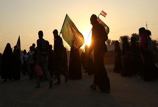 کرایه حمل و نقل زائران اربعین ۹۷ در خاک عراق