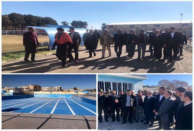 بازدید وزیر ورزش و جوانان از مجموعه ورزشی تختی تربت حیدریه