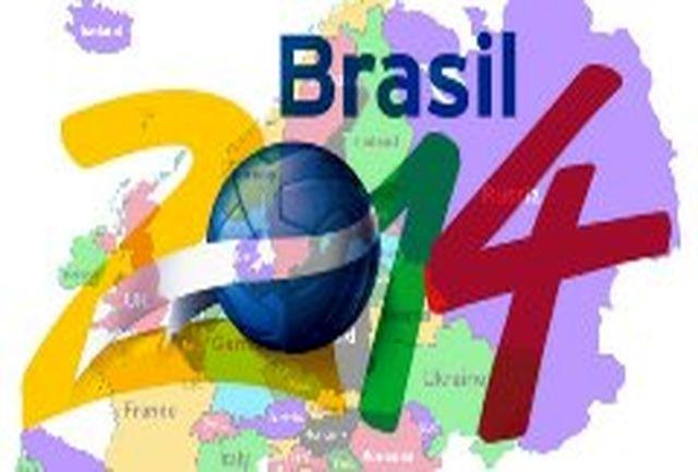 حضور چشمگیر طرفداران آرژانتین/تمسخر برزیل با سرود ˝هفت˝