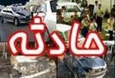 10 مصدوم سانحه جاده ای درالبرز