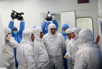 افتتاح پروژه سلول درمانی با حضور معاون اول رییس جمهوری