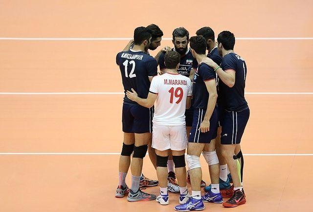 ایران بالاتر از فرانسه در جایگاه دهم ایستاد