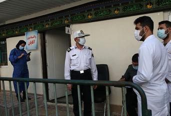 مرکز واکسیناسیون پلیس پایتخت