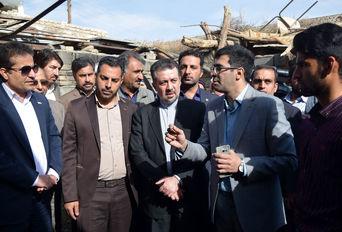 حضور  معاون وزیر ورزش و جوانان در روستای ارباب