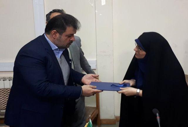 معاون برنامهریزی و هماهنگی امور عمرانی فرمانداری محمودآباد معارفه شد