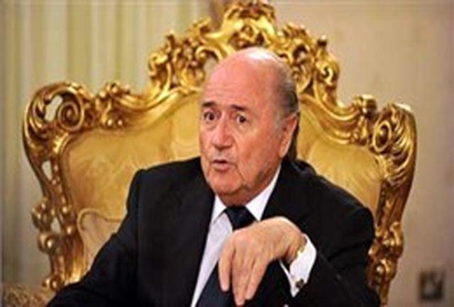 پیام تبریک سپ بلاتر به فولاد خوزستان