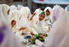 جشن ویژه روزه اولیها در حرم امامزاده علی بن جعفر(ع) برگزار شد