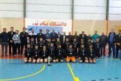 نایب قهرمانی تیم هندبال شهرستان فردوس