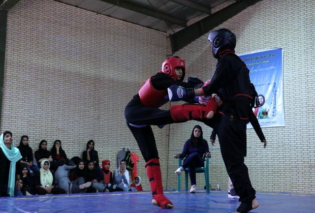 قهرمانی بانوان سلماسی در مسابقات ووشو انتخابی المپیاد استعدادهای برتر ورزش کشور