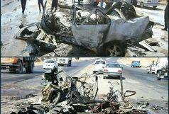 یک کشته در برخورد رخ به رخ خودروی سمند با کامیون